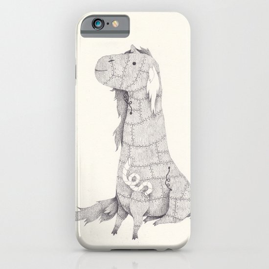 robot unicorn iPhone & iPod Case