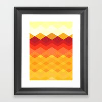 Against The Sun Framed Art Print