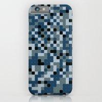 Pixelated Camo Alternate iPhone 6 Slim Case