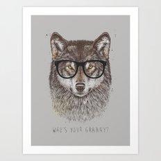 Who's your granny? Art Print
