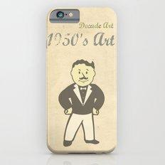 1950s Artwork iPhone 6 Slim Case