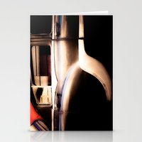 Black Vintage American Car in Cuba. Stationery Cards