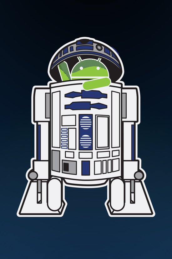 A Droid in you Droid Art Print