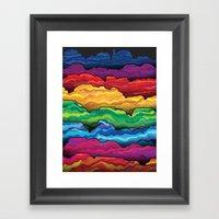 The Badlands Framed Art Print
