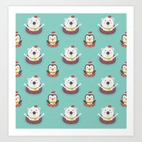 Day 05/25 Advent - Holiday Warming Art Print