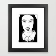 Apollonia Saintclair 228… Framed Art Print