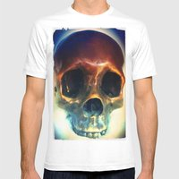 All You Need is Skull. Mens Fitted Tee White SMALL
