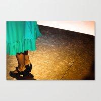 Flamenco#2 Canvas Print
