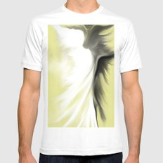 Lightdancer Mens Fitted Tee White SMALL
