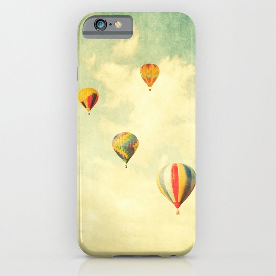 Drifting Balloons iPhone & iPod Case