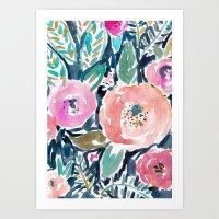 Gardens Of Capitola Wate… Art Print