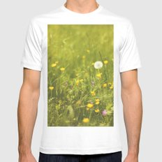 Make a wish Mens Fitted Tee White SMALL