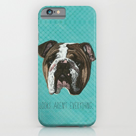English Bulldog Print iPhone & iPod Case
