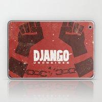 Django Unchained -  Quentin Tarantino Minimal Movie Poster Laptop & iPad Skin