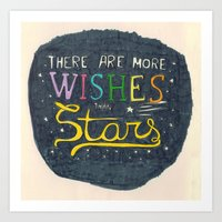 There Are More Wishes Th… Art Print