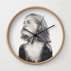 I See The Universe Inside Of You Wall Clock