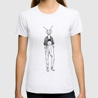 Mantis Womens Fitted Tee Ash Grey SMALL