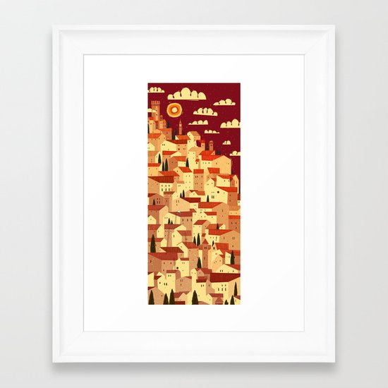 The Tiler Framed Art Print