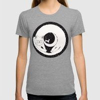 cats life: dreaming Womens Fitted Tee Tri-Grey SMALL