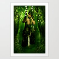 Swinging On A Dream Art Print