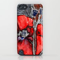 Poppies(crystal). iPod touch Slim Case