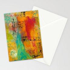 Mixed Media Abstract 1 Stationery Cards