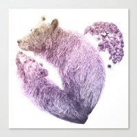 Bear Your Heart V2 Canvas Print