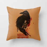 Oh Well, Whatever, Never… Throw Pillow