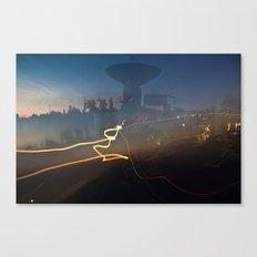 Antenna Flowing Canvas Print