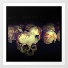 Killing fields Art Print