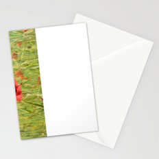 Poppies In The Fields. Stationery Cards