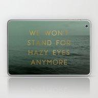 Hazy Eyes Laptop & iPad Skin