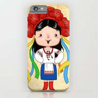 iPhone & iPod Case featuring A Ukrainian Girl by Maria