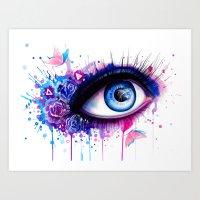 -Pastel Lights- Art Print