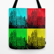 York Minster Pop Art Tote Bag