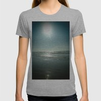 Califorication. Womens Fitted Tee Athletic Grey SMALL