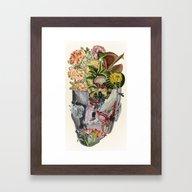 Mindfulness - Anatomical… Framed Art Print