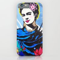 iPhone & iPod Case featuring Frida Kahlo by Paola Gonzalez