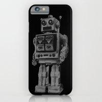 Vintage robot iPhone 6 Slim Case