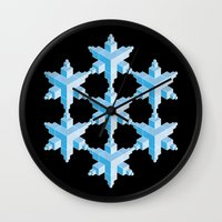 Glass House Wall Clock