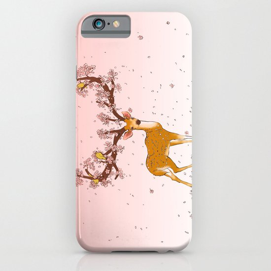 Blooming stag iPhone & iPod Case
