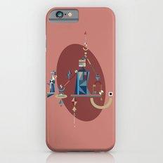 absinthe: blue Slim Case iPhone 6s