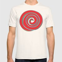 Lollipop Mens Fitted Tee Natural SMALL