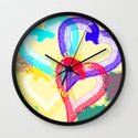 Love is colorful Wall Clock