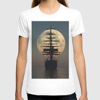 ship T-shirts featuring Ship by samedia