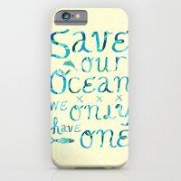 I heart ocean iPhone 6 Slim Case