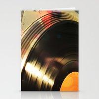 Vinyl 2 Stationery Cards