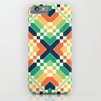 iPhone & iPod Case featuring Retrographic by Budi Kwan