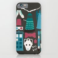 doctor who iPhone & iPod Cases featuring Doctor Who by Abbie Imagine