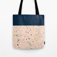 XVI - Dark Blue Tote Bag